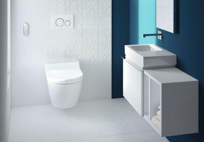 Bidet do každé koupelny: Všestranná toaleta Geberit AquaClean Tuma