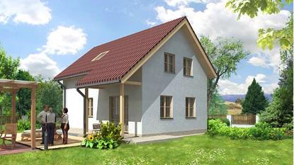 Kompletní projekt rodinného domu seslevou 13000Kč