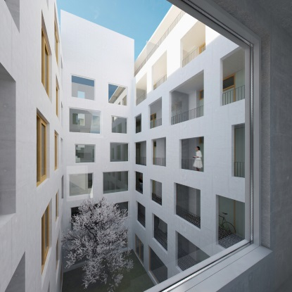 Zdravé bydlení v centru metropole - Rezidence Prachnerova