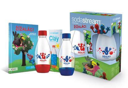 Soutěž o limitovanou edici dětských lahví Sodastream