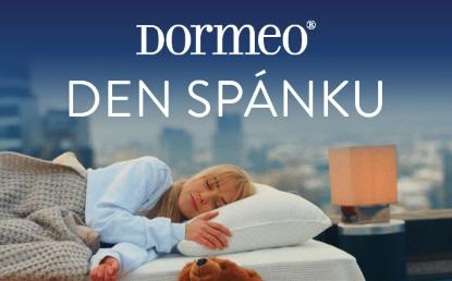 Oslavte s námi Dormeo den spánku
