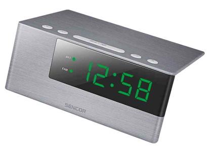 Vyhrajte digitální hodiny s budíkem značky Sencor