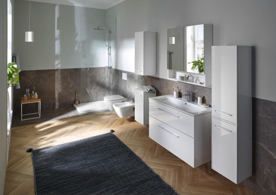 Koupelna Geberit Selnova nabízí řešení pro koupelny všech velikostí