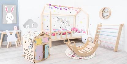 Dětský pokojíček podle Montessori