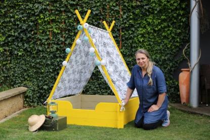 Jak vyrobit dětské teepee a domeček pro panenky