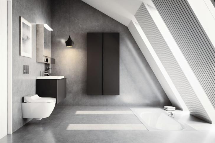 Překvapivě všestranná toaleta GEBERIT AQUACLEAN TUMA