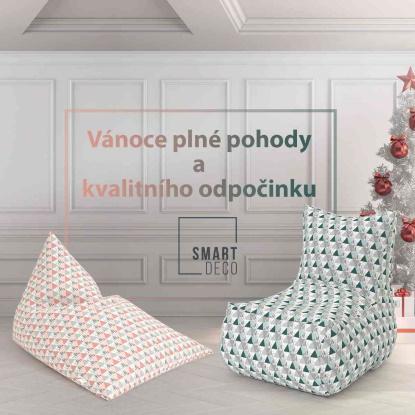 Vánoční tip: Smartdeco - české sedací vaky, co vydrží