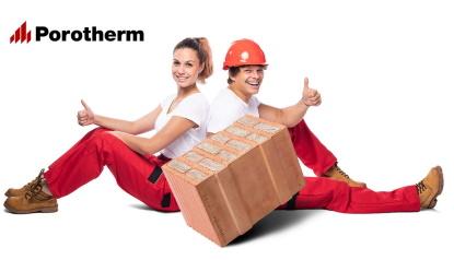 Pusťte se do stavby svépomocí! Odborníci vám poradí a spočítají spotřebu i cenu cihel Porotherm