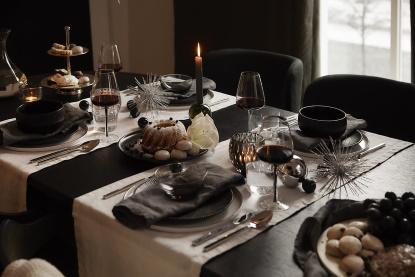 Černá a bílá: Barvy Vánoc 2020