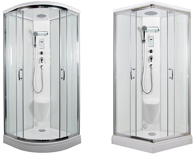 Parní sprchová sauna BRILIANT a SMARAGD, wellness u Vás doma