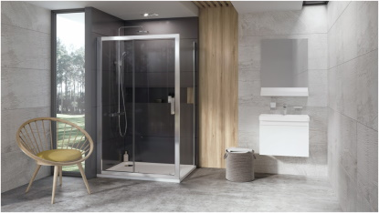 Výběr sprchových dveří nepodceňujte