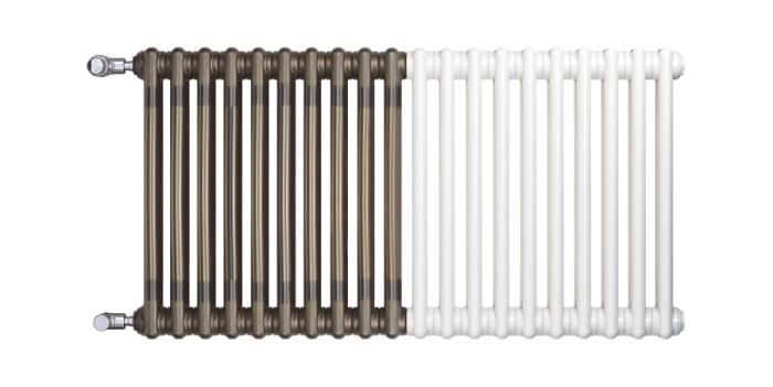 Charleston Retrofit umožňuje jednoduchou náhradu litinového radiátoru nebo výměnu starého radiátoru za nový. Prvotřídní výrobky jsou k dispozici v pestré škále barev a provedení.