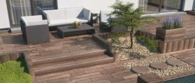 Zahrada v jednotném stylu se systémem BARK
