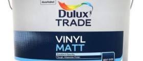 Soutěž o 3 ks 10l barvy DULUX VINYL MATT PBW