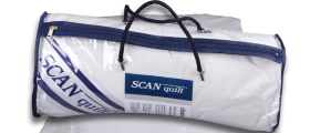 Jen do konce srpna: Soutěž o přikrývku SCANquilt