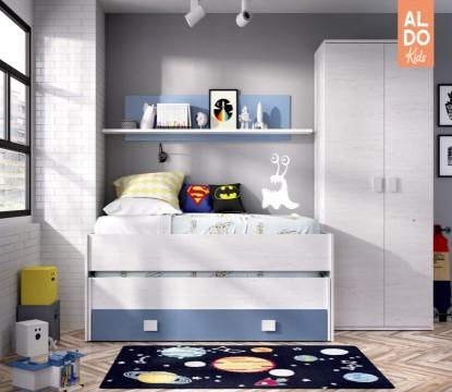 Jak ušetřit místo v dětském pokoji za pomoci správného nábytku
