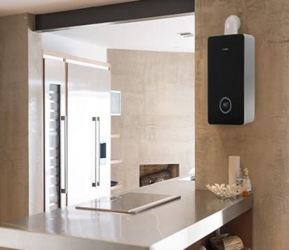 Efektivní vytápění a příprava teplé vody  díky kotli Bosch Condens 8700i W