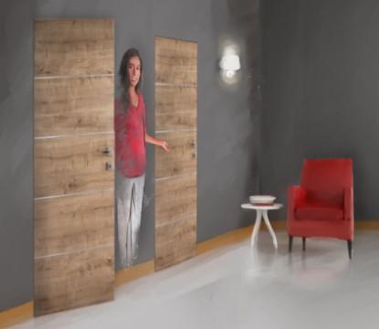Kam patří skryté zárubně dveří?
