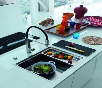Vyšperkujte svou kuchyni pomocí moderních kuchyňských dřezů