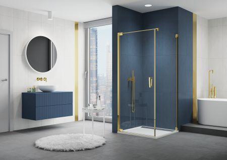 Vystupte z řady se sprchovými zástěnami CADURA GOLD LINE
