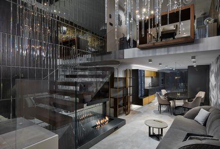 Showroom studia Design Living Concept vpražském Karlíně
