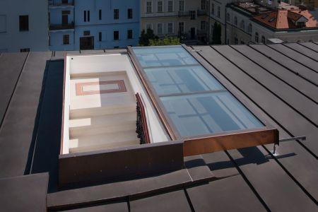 Střešní dveře pro ploché i šikmé střechy