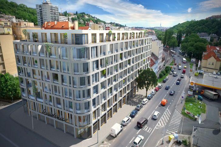 Rezidence Prachnerova – zdravé bydlení vcentru metropole
