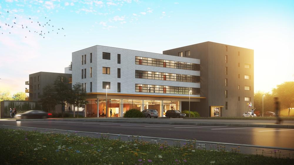 Stavba projektu Nové byty Čelákovice právě začíná