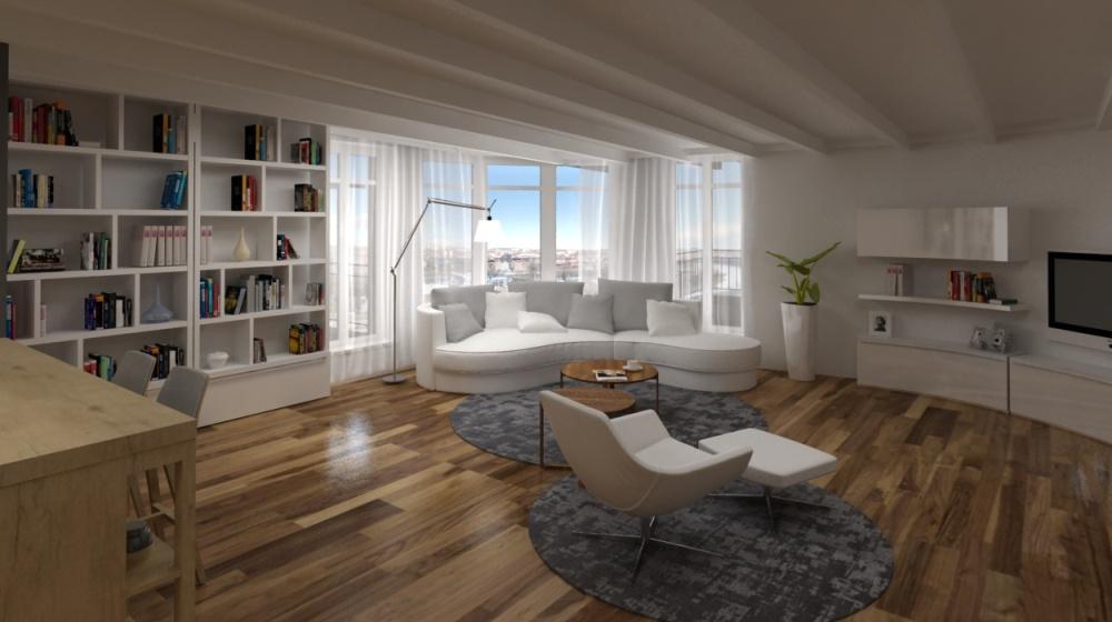 Projekt Prvního pluku – bydlení ve vysokém standardu v blízkosti centra