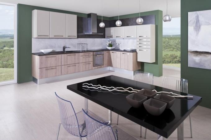 Plánovaná kuchyně Leandra