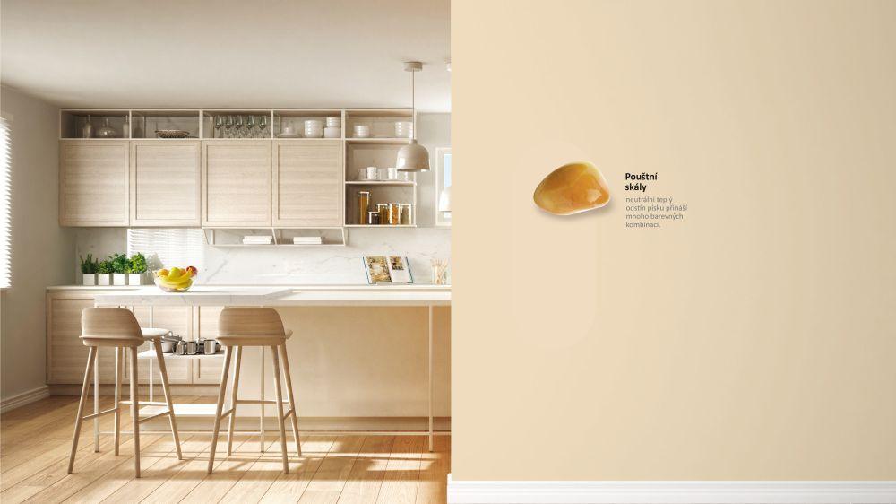 Primalex Ceramic: I jemné pastelové stěny mohou zůstat dokonale čisté