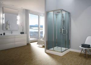 Sprchové boxy MODUL 1400 od SanSwiss pro snadnou a rychlou instalaci do Vaší koupelny