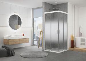 CADURA White Line od SanSwiss – designové a variabilní sprchové zástěny