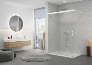 Walk-in zástěny CADURA od SanSwiss – do menší a stylové koupelny