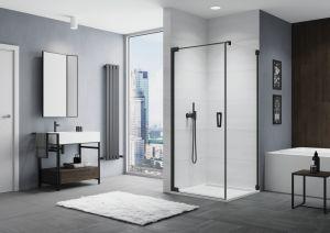 Sprchové zástěny CADURA Black Line – trend pro vaši koupelnu nebo fitness