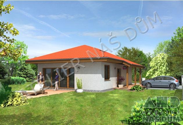 Projekt rodinného domu Františka I klasik s dotací