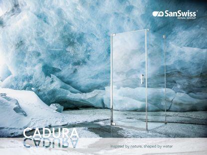 Sprchové zástěny CADURA - inspirované přírodou, tvarované vodou