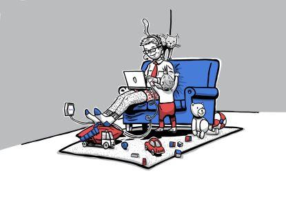 Home office si se Stabilním rychlým internetem užijete