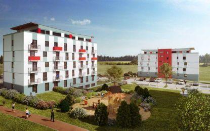 Rezidenční bydlení GREENSIDE - příroda uprostřed infrastruktury