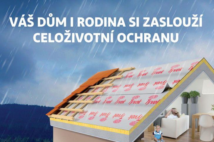 Podstřešní difuzní fólie hraje ve skladbě střechy nezastupitelnou roli
