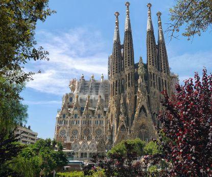Po stopách Gaudího architektury - La Sagrada Família