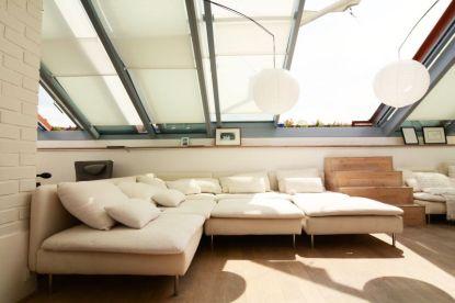 Střecha domu jako kabriolet