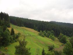 Výhled z okna - jih - Apartmány Razula