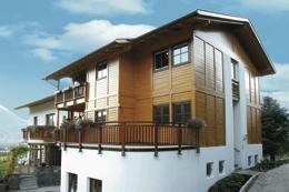 Šestinásobná ochrana dřeva pro krásný vzhled dřevěných staveb
