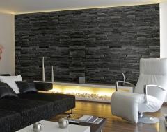 Kamenné obkladové pásky se hodí do bytu i na fasádu