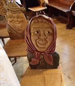Veselé židle na Rejvízu