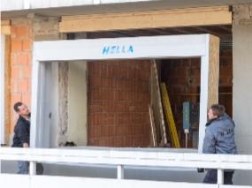 Zástavba do stavebního otvoru