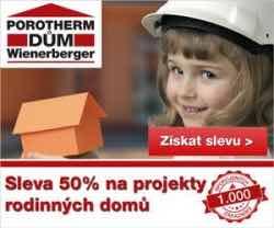 Záruka kvalitního bydlení má jméno POROTHERM DŮM Wienerberger