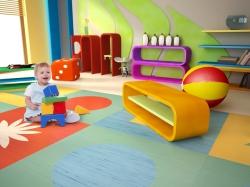 Jakou podlahu do dětského pokojíčku