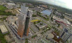 Proletěli jsme se nad nejvyšší stavbou České republiky